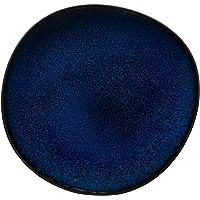 like. by Villeroy and Boch – Assiette à Dessert Lave Bleu, 23,5 cm, élégante Assiette Plate en Grès pour un Brunch…