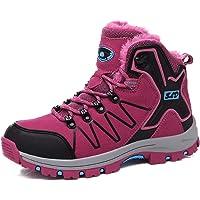 TQGOLD® Scarpe da Trekking Uomo Donna,Impermeabile Scarpe da Escursionismo Arrampicata Stivali in Pelle