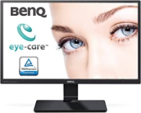 BenQ GW2470ML 60,45 cm (23,8 Zoll) LED Monitor (VA Panel, D-Sub, HDMI, 4ms Reaktionszeit, Low Blue Light Plus, Lautsprecher) schwarz