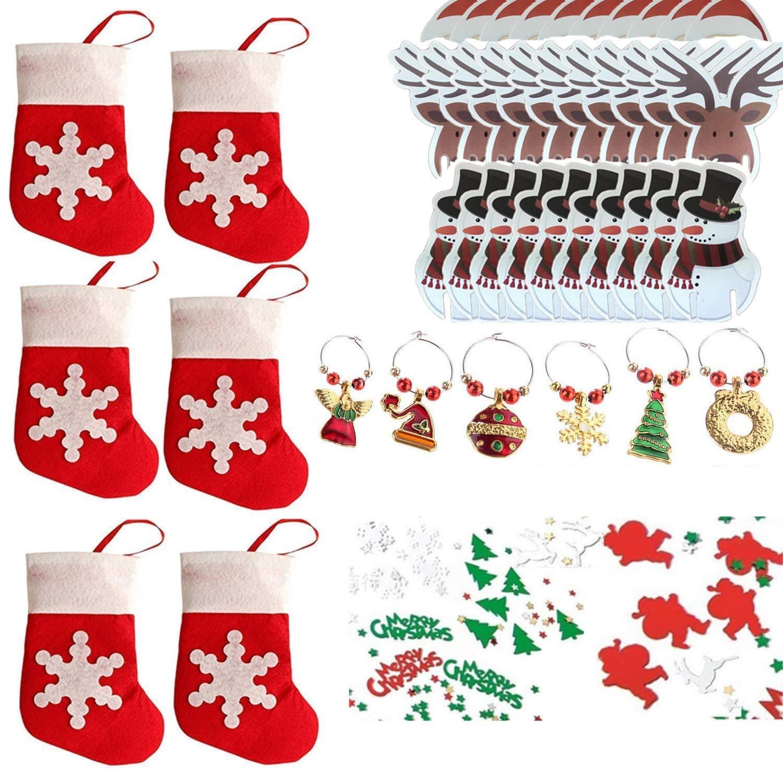 COSORO Decoración Navideña Set para Fiesta de Navidad