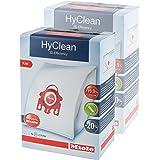 Miele Genuine FJM Hyclean Dust Bags + Filters (Pack of 8)