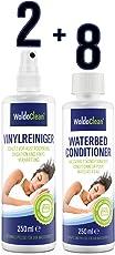 WoldoClean Wasserbett Conditionierer & Wasserbetten Vinylreiniger Pflege-Zubehör - 8X 250ml Conditioner 250ml Vinyl-Reiniger