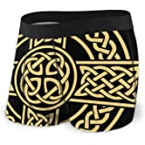 Celtic Cross Irish Scottish Men's Underwear Boxer Briefs Breathable Briefs Shorts S-XXL