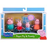 Amisha Gift Gallery Pig Family Toy, Set of 4 with House Set, Action Figure ,Original Animated Toys for Children (Set of…