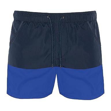 6d65033ad2 Mens Brave Soul Designer Cut And Sew Block Swim Trunks: Amazon.co.uk:  Clothing