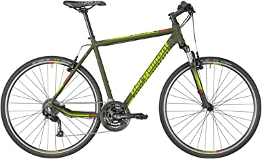 Bergamont Helix 3.0 Cross Trekking Fahrrad oliv grün/grün/rot 2018