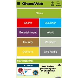 Suche nach ghanaweb