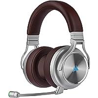 Corsair VIRTUOSO RGB WIRELESS SE Hi-Fi-Gaming-Headset (Hochdichter 50-mm-Neodym-Lautsprecher, Premium-Ohrpolster mit…