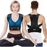 Corrector Postura Espalda, iThrough Corrector de Postura Espalda y Hombro para Hombre y Mujer, Faja Espalda Recta Soporte Tal