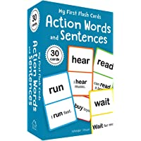 My First Flash Cards: Action Words and Sentences (Flash Cards For Children)