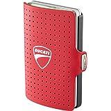 I-CLIP ® Portafoglio DUCATI Rosso, Gunmetal-Black (Disponibile In 2 Versioni)