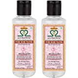 Khadi Herbal Pure Rose Water 210ml Pack of 2