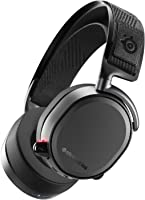 SteelSeries Arctis Pro Wireless - Casque Gaming sans fil (2,4 G & Bluetooth) - Pilotes d'enceintes haute résolution - Noir