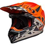 Bell Helmet Moto 9 Flex Fasthouse Wrwf Black White Grey M Auto