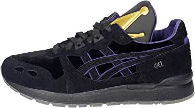 ASICS, Donna, Gel Lyte The Evil Queen, Suede/Tessuto, Sneakers, Nero