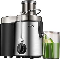 Aicok Zentrifugaler Entsafter, Geschwindigkeiten Für Obst und Gemüse