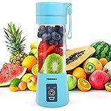 Tenswall Mini Blender, Mini mélangeur portable, Presse-Agrumes Electriques, Portable Rechargeable par USB Juicer Cup Juicer B