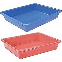 Acorn Cat Litter Tray | Virgin Plastic | Max. Filling Litter 10L [ Water Capacity 14L Max] | 49 X 35 X 9 cm | 1 Piece…