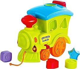 Little's Pull Along Musical Train, Multi Color