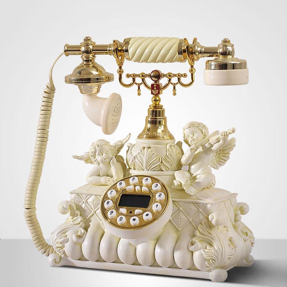 BBIAY Retro mestiere Casa Scrivania Telefono Cupido Stand Stile Personalit� Camera da letto Ornament