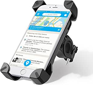 Fahrrad Handyhalterung Wrcibo Universal Handy Halterung Outdoor Fahrradhalterung Fahrrad Lenker 360 Drehbare Handyhalterung Handy Gps Halter Schwarz Navigation