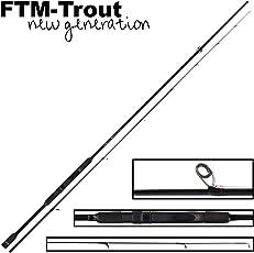 FTM Virus Spoon XP 5 2m 1-6g - Spinnrute zum Ultra Light Angeln auf Forellen, Forellenrute zum Spinnfischen mit Blinkern