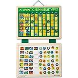Melissa & Doug Min magnetiska responsibilitetskarta | Developmental Toy | Kognitiva färdigheter | 4+ | Present till pojke ell