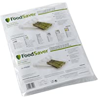 FoodSaver 32 Sacchetti Termosigillabili per Macchina per Sottovuoto, senza BPA, 28 x 37 cm