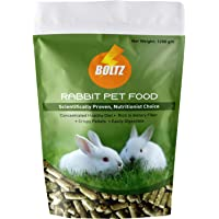Boltz Premium Rabbit Food,Nutritionist Choice (ISO 9001 Certified)-1200 gm