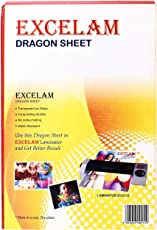 Nilkanth Enterprises White Plastic Laminator Dragon Sheet