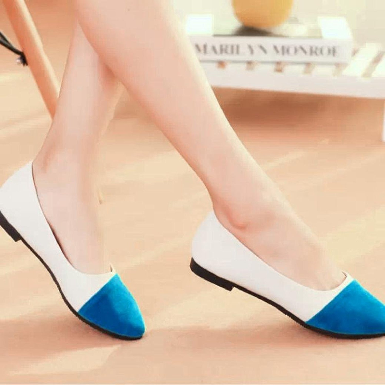 Women's Flat Shoes, ToamenWomen Casual Flock All Seasons Ballet Slip On Flats  Loafers Shoes: Amazon.co.uk: Shoes & Bags