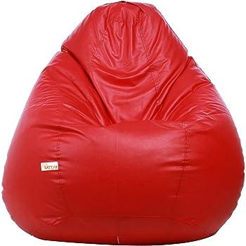 Sattva XXXL Bean Bag (Red)