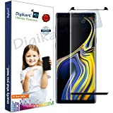 Digikart Mobile Screen Protector Guard Edge to Edge Black Tempered Glass for Samsung Note 9
