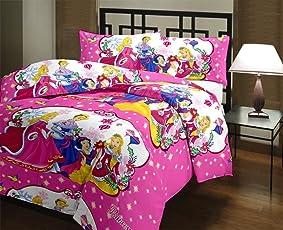 SHOP IT Cartoon Character Kids Single Bed Reversible AC Dohar/Blanket (Set of 1)