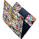FineArts Full Panel Laptop Skins Upto 15.6 inch - No Residue, Bubble Free - Removable HD Quality Printed Vinyl/Sticker/Cover