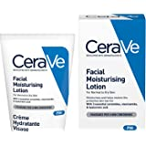 CeraVe PM Facial Moisturising Lotion| 52ml/1.75oz | Day & Night Facial Moisturiser with Hyaluronic Acid