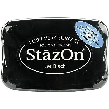 Tsukineko Stazon Jet Black Ink Pad