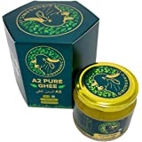 GirOrganic A2 Pure Ghee   100% Desi Gir Cow   Vedic Bilona Method   250 ml Glass Bottle   Grassfed, Cultured, Premium & Tradi