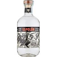 Espolòn Tequila Blanco Tequila 100% Agave Messicana con Aroma di Agave Dolce e Note di Pepe, Vaniglia e Spezie, 40% Vol…