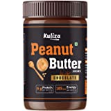 Chocolate Peanut Butter Creamy, Made with Roasted Peanuts, Cocoa Powder & Choco Chips   Non GMO   Gluten Free   Vegan - (Choc