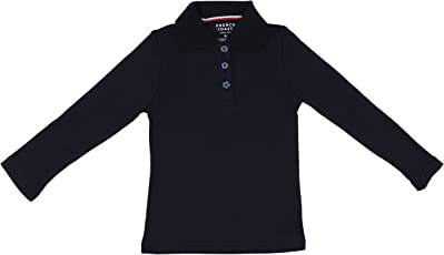 Hey It's Me Full Sleeves Classic Pain Cotton Blue Color Stretchable Polo T-Shirt For Boys/Girls