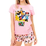Disney Womens Mickey Mouse Minnie Mouse and Friends Pyjamas