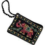 Kuber Industries Multi Color Women's Mobile Cover With Hand Dori For Women- 17*12CM(KUBERBGH55)