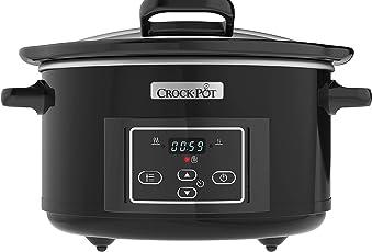 Crock-Pot SCCPBPP605-050 Schongarer/Slow Cooker/digitaler Countdown-Timer