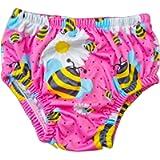 Costume Ellepi Contenitivo Neonato Pannolino Costumino Mare Piscina Slip Bambino Bambina Nuoto 0 1 3 6 9 12 18 24 Mesi…