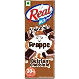 Real Frappe Milkshake - Belgian Chocolate - 180 ml