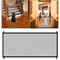 Safe-O-Kid Premium Quality, Pet Safety Fence, Portable Folding Safety Mesh/Gate for Pets/Baby, Size- 1.8 Meter-Large