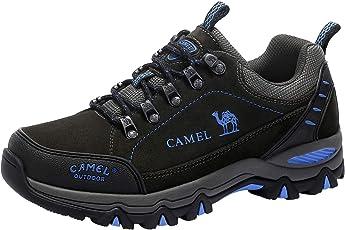 CAMEL Trekkingschuhe Herren Wanderschuhe Wasserdichte Wanderhalbschuhe Dämpfung Anti-Slip Für Outdoor Climping Trekking