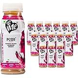 &Me PCOS, PCOD - Women Health Drink with Ayurvedic Herbs and Vitamins (Shatavari, Lodhra, Vitamin B12) - 3lt (Cranberry…