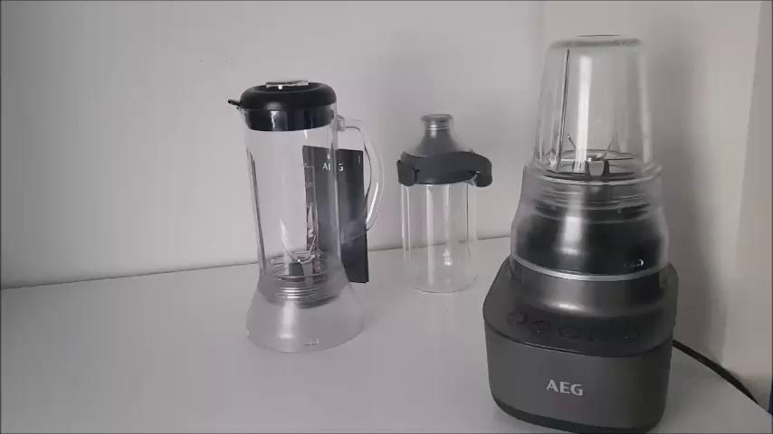 AEG CB7-1-8MTM Batidora de Vaso Compact, 2 Velocidades, 2 ...